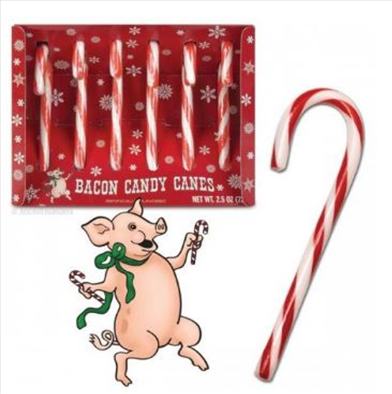 Bacon Candy Canes - Archie McPhee | Miscellaneous