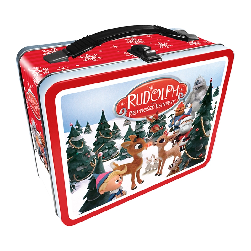 Rudolph The Red-Nosed Reindeer Tin Fun Box | Lunchbox