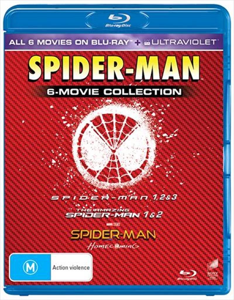 Spider-Man 6 Pack - Franchise Pack | Blu-ray
