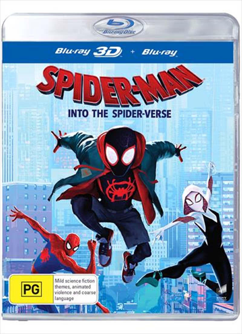 Spider-Man - Into The Spider-Verse | 3D + 2D Blu-ray | Blu-ray 3D