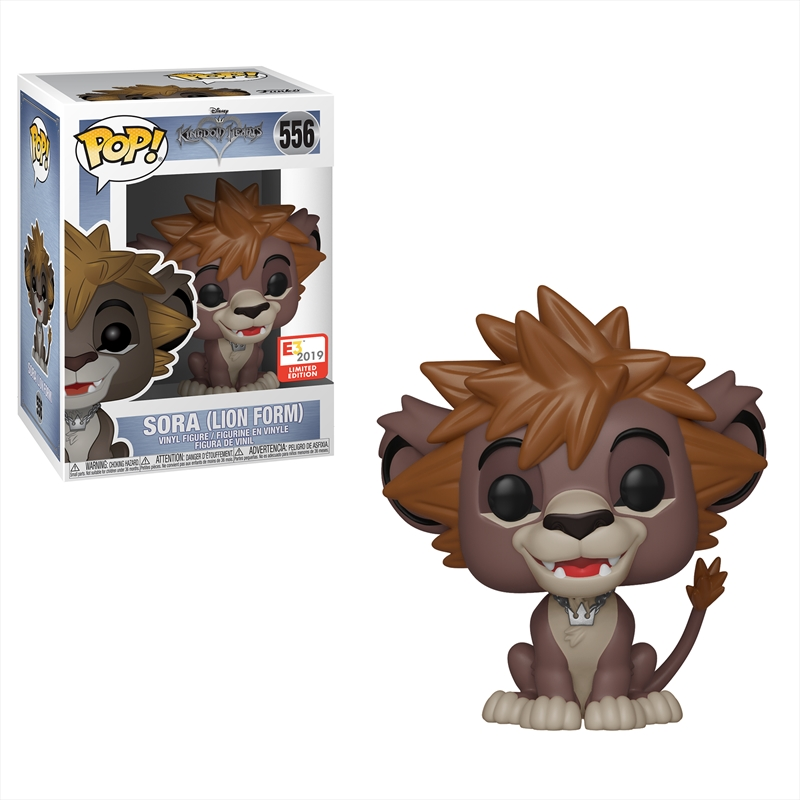 Kingdom Hearts Sora Lion Form Pop! Vinyl 2019 E3 Exclusive | Pop Vinyl