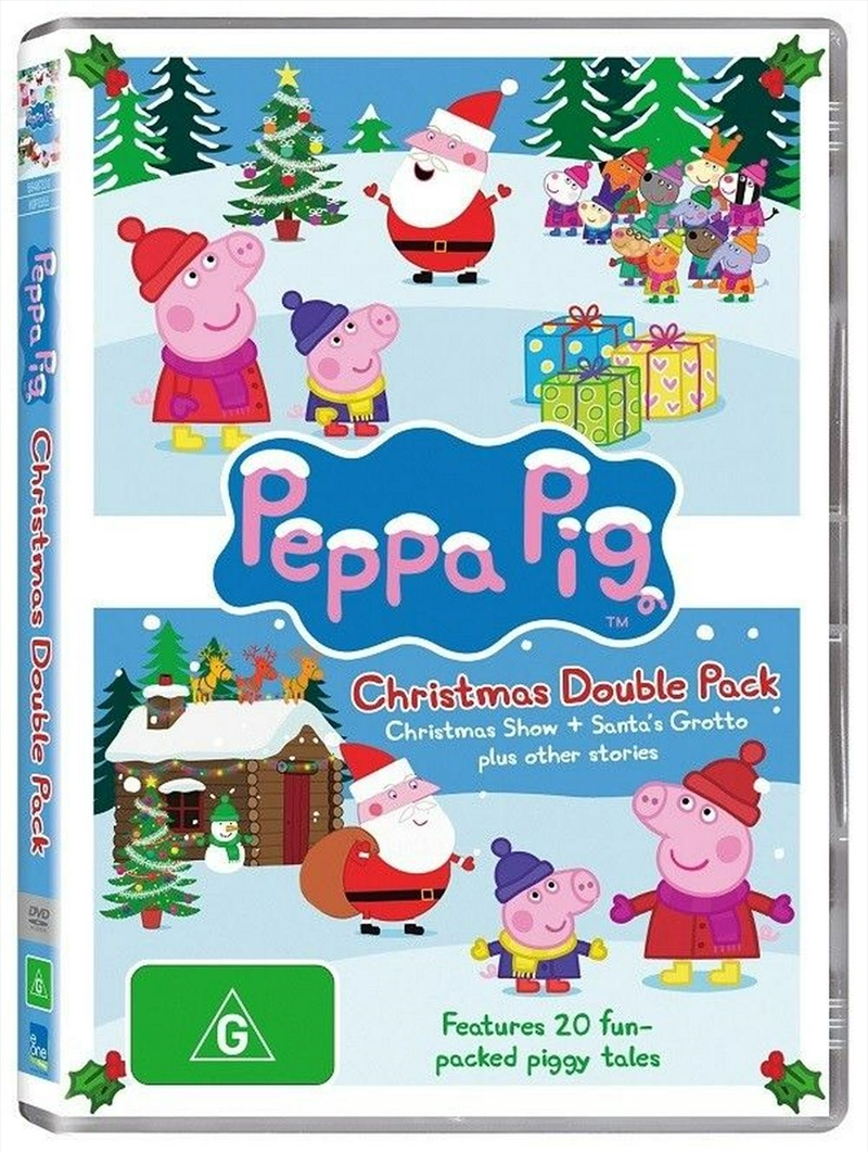 Peppa Pig - Christmas Double Pack | DVD