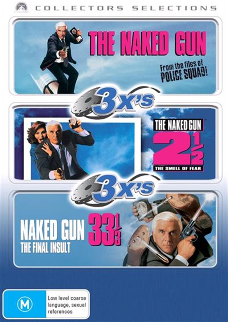 Naked Gun, The  / Naked Gun 2 1/2, The - The Smell Of Fear  / Naked Gun 33 1/3 - The Final Insult | DVD