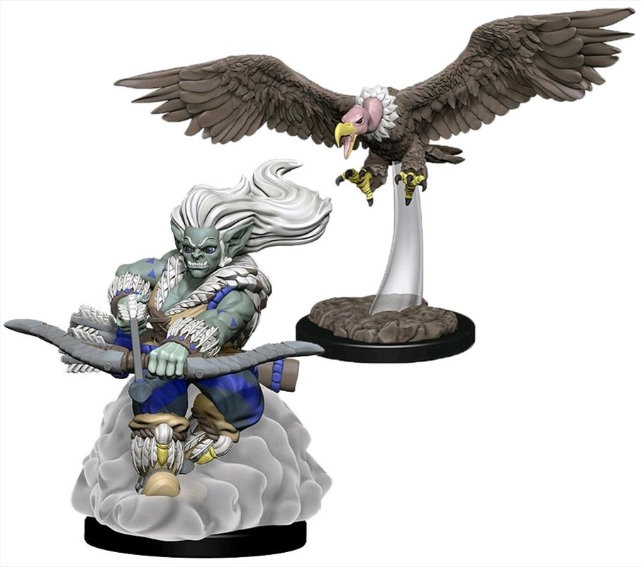 Wardlings - Wind Orc & Vulture Pre-Painted Mini | Games