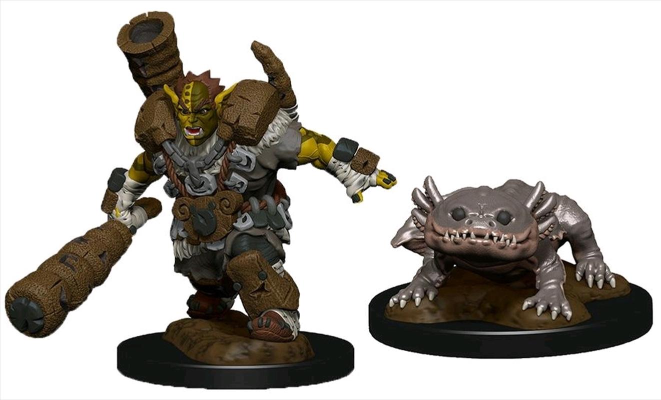 Wardlings - Mud Orc & Mud Puppy Pre-Painted Mini | Games