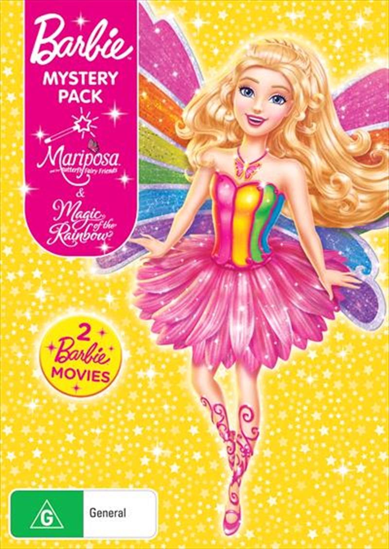 Barbie - Magic Of The Rainbow / Barbie Mariposa | Barbie Mystery Pack | DVD