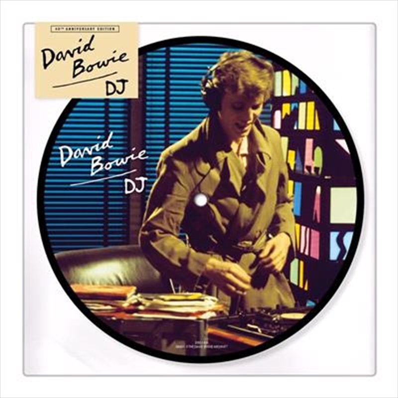Dj - Limited 40th Anniversary Edition 7inch Picture Disc   Vinyl