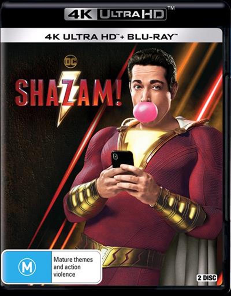 Buy Shazam on 4K UHD | Sanity Online