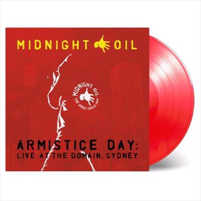 Armistice Day - Live At The Domain Sydney - Limited Edition Red Coloured Vinyl | Vinyl