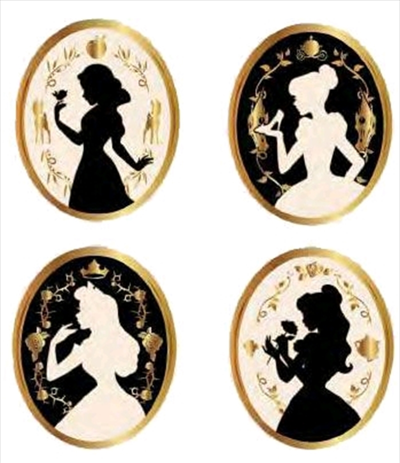 Disney - Princesses Enamel Pin 4-pack   Merchandise