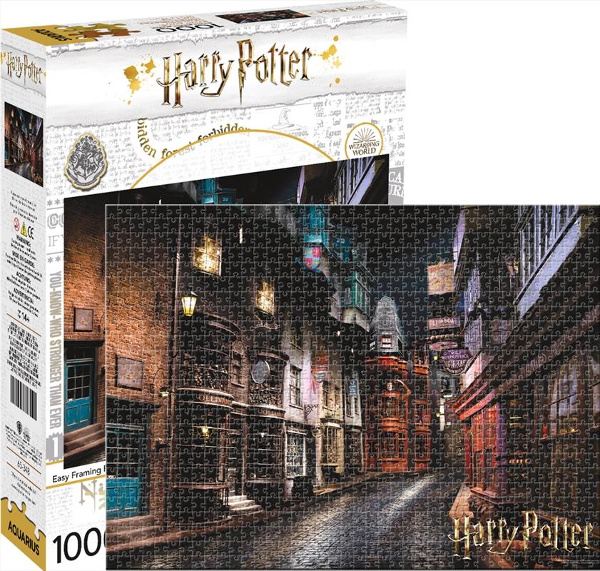 Harry Potter - Diagon Alley 1000 Piece Puzzle | Merchandise
