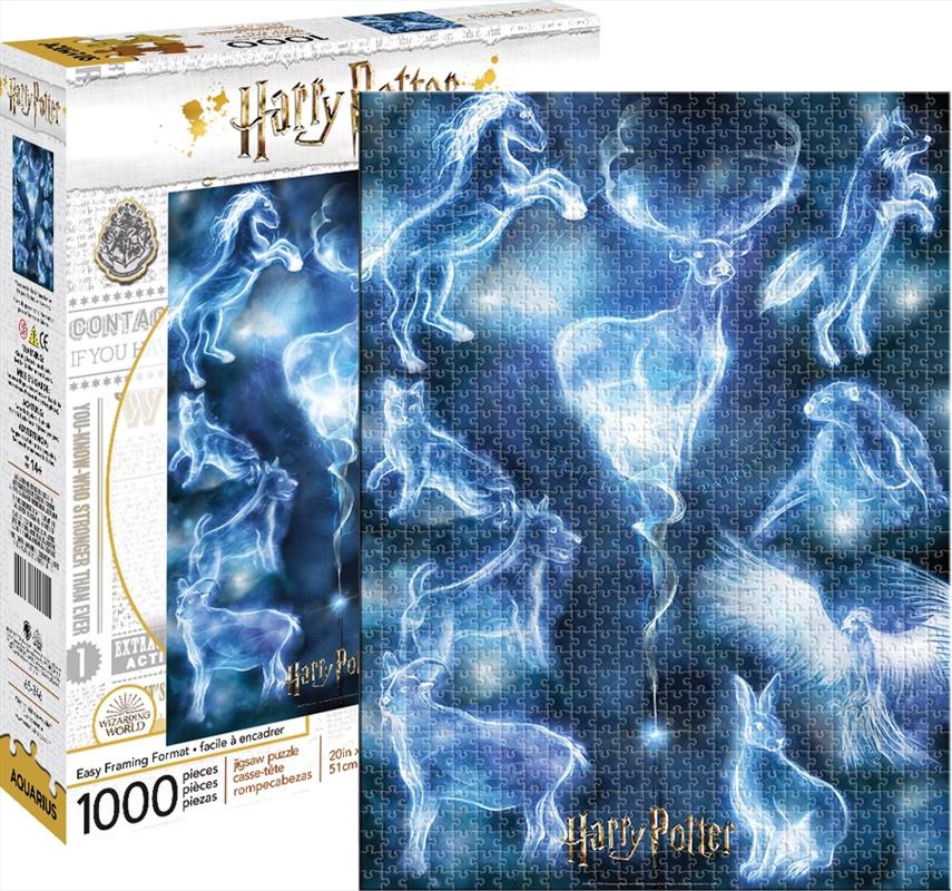 Harry Potter - Patronus 1000 Piece Puzzle   Merchandise