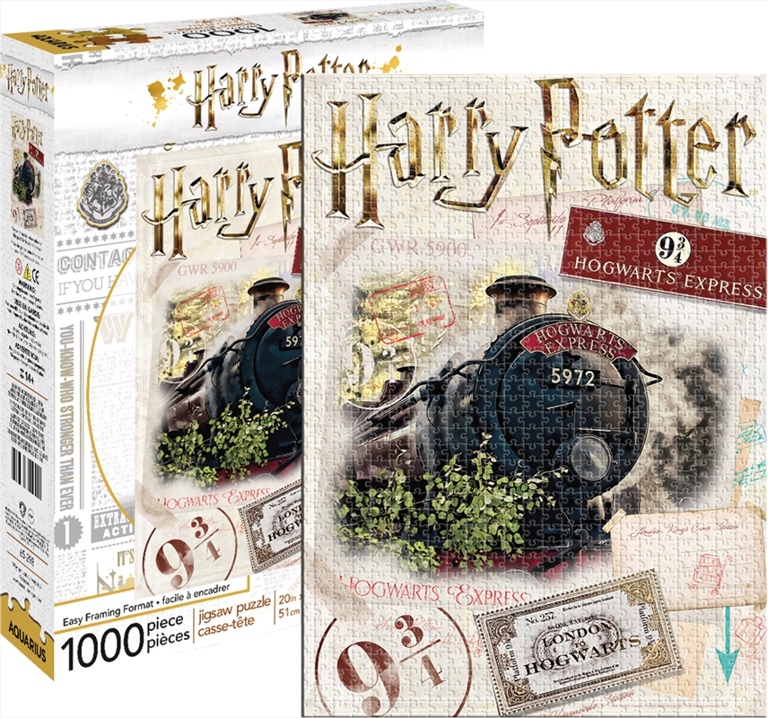 Harry Potter - Express 1000 Piece Puzzle | Merchandise