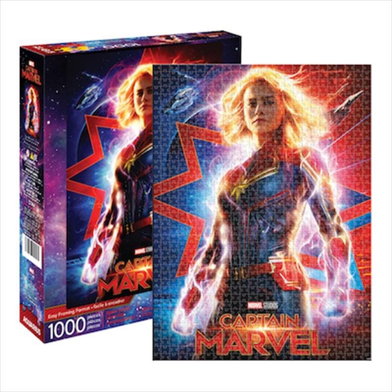 Captain Marvel Movie 1000 Piece Puzzle | Merchandise