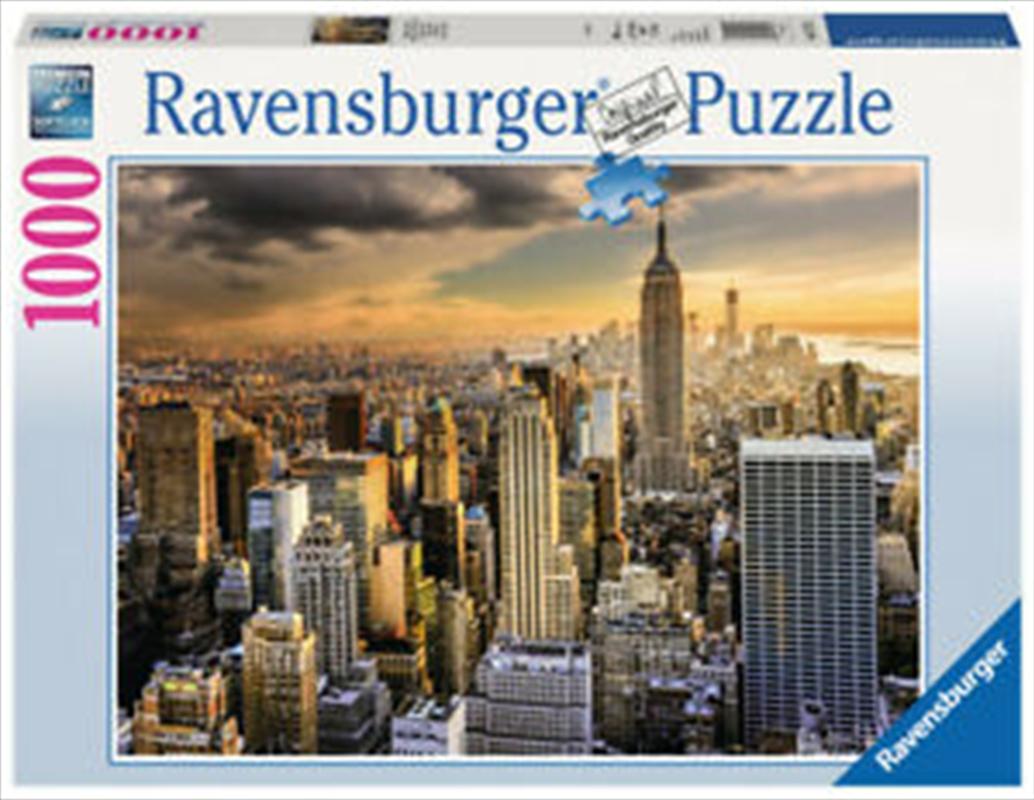 Ravensburger Grand New York Puzzle - 1000 Pieces | Merchandise