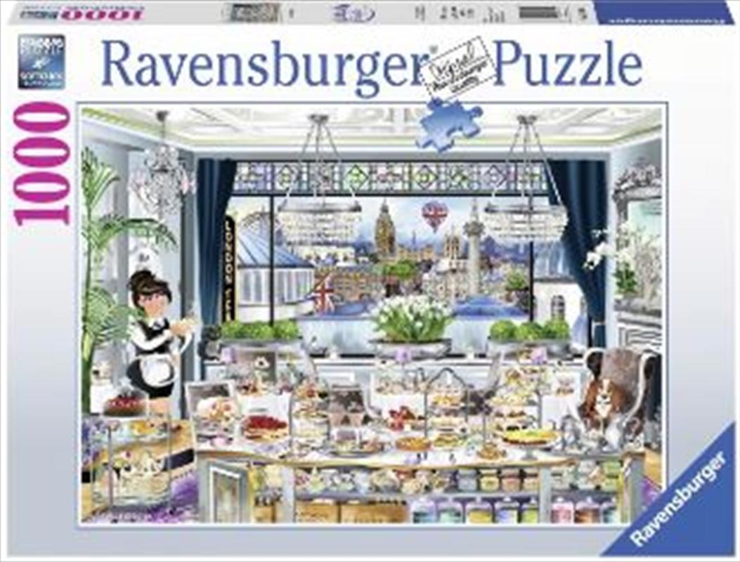 Ravensburger - Wanderlust London Tea Party 1000 Pieces   Merchandise