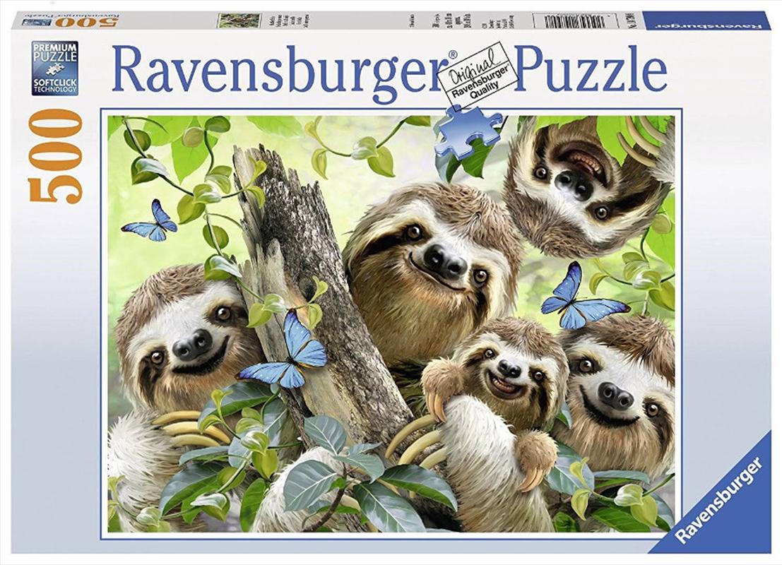 Ravensburger - Sloth Selfie Jigsaw Puzzle 500 Pieces | Merchandise