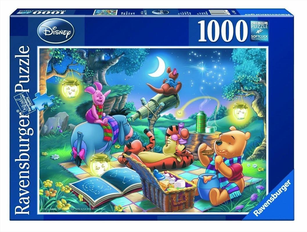 Ravensburger - Disney Winnie the Pooh Puzzle 1000 Pieces | Merchandise