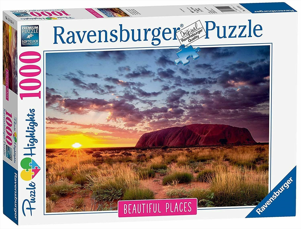 Ravensburger - Ayers Rock Australia Puzzle 1000 Pieces | Merchandise