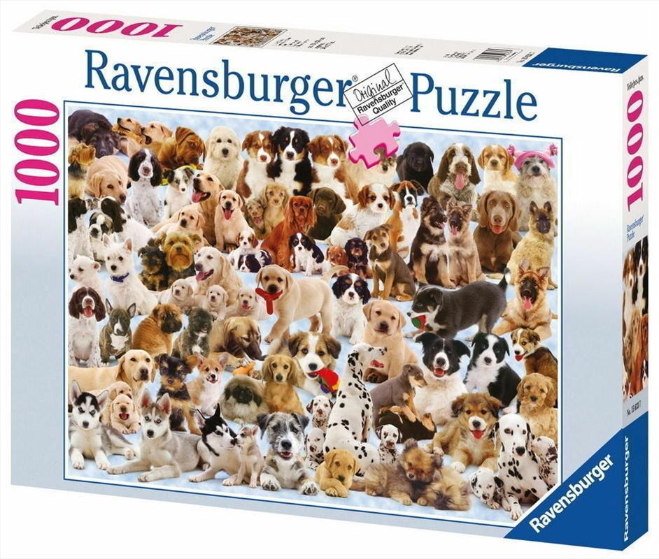 Ravensburger - Dogs Collage Puzzle - 1000 Pieces   Merchandise