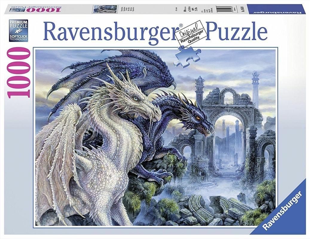 Ravensburger - Mystical Dragon Puzzle 1000 Pieces | Merchandise