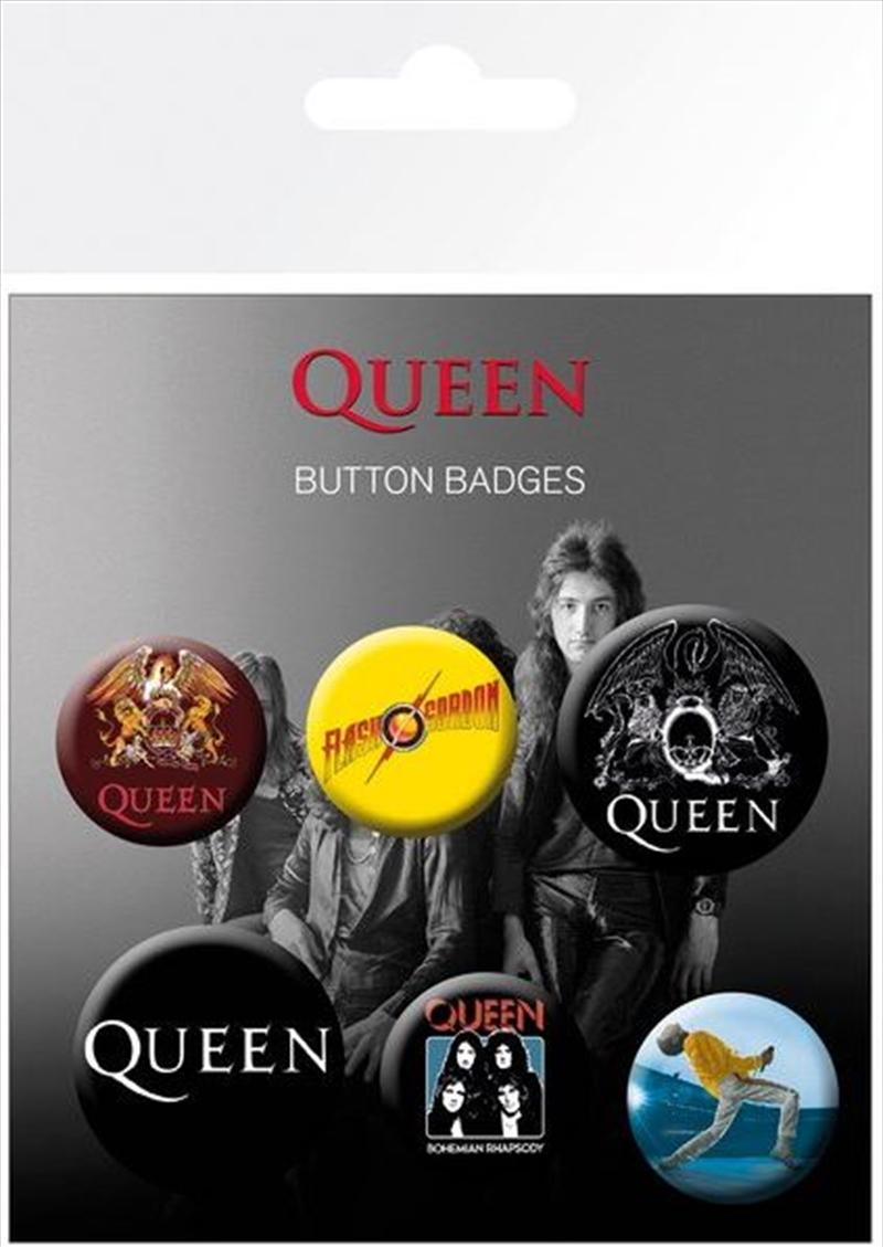 Queen Badge Pack | Merchandise