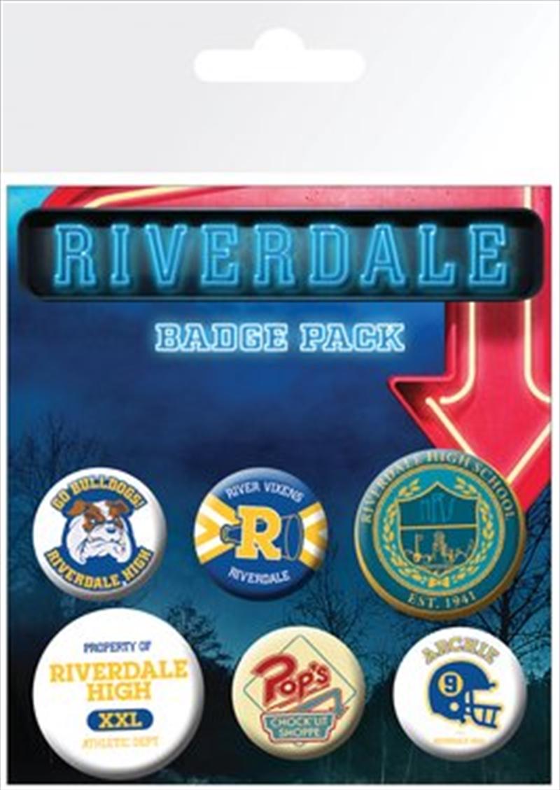 Riverdale Badge Pack   Merchandise
