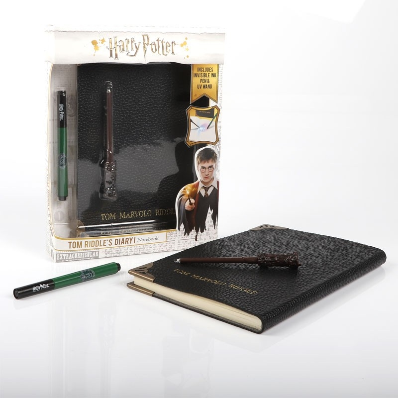 Harry Potter - Diary Notebook and Invisible Wand Pen | Merchandise