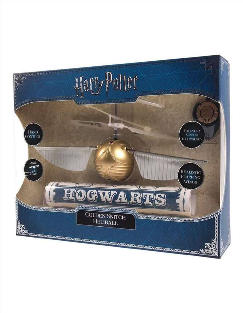 Harry Potter - Golden Flying Snitch Heliball   Collectable