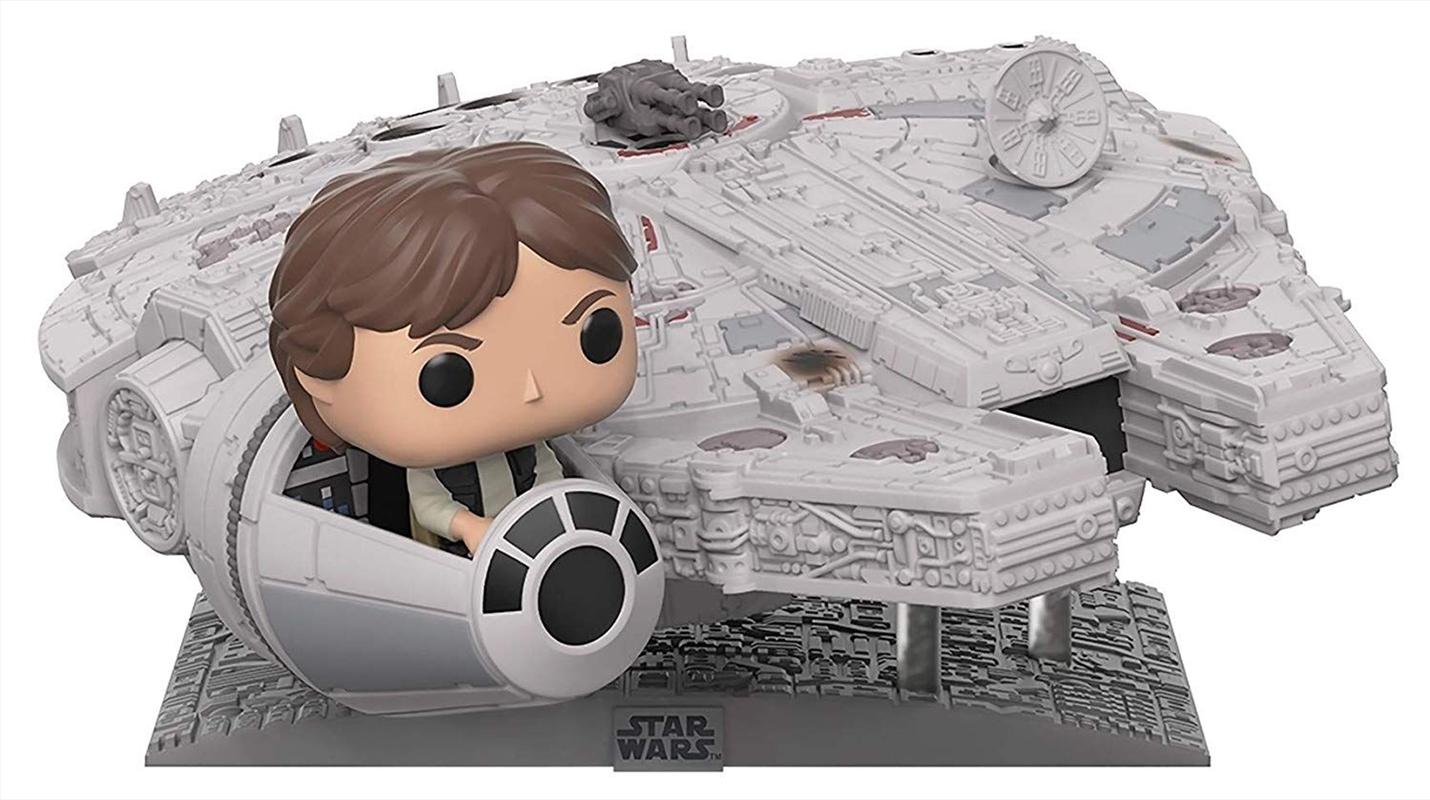 Star Wars - Han Solo Millennium Falcon US Exclusive Pop! Deluxe [RS] | Pop Vinyl