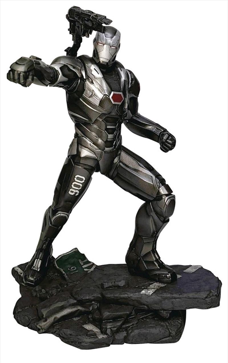 Avengers 4: Endgame - War Machine Gallery PVC Figure   Merchandise