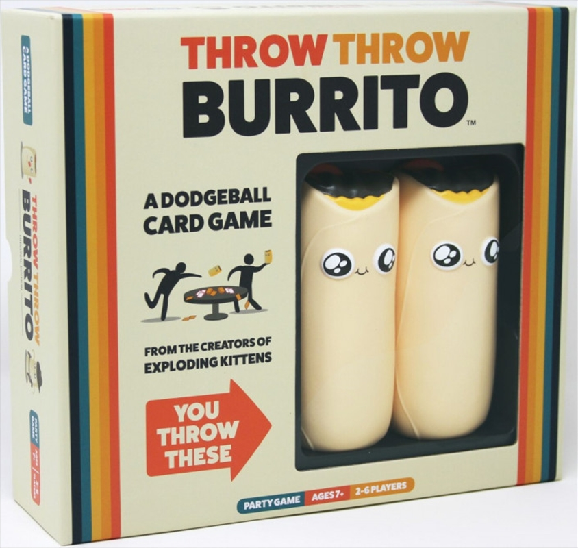Throw Throw Burrito | Merchandise