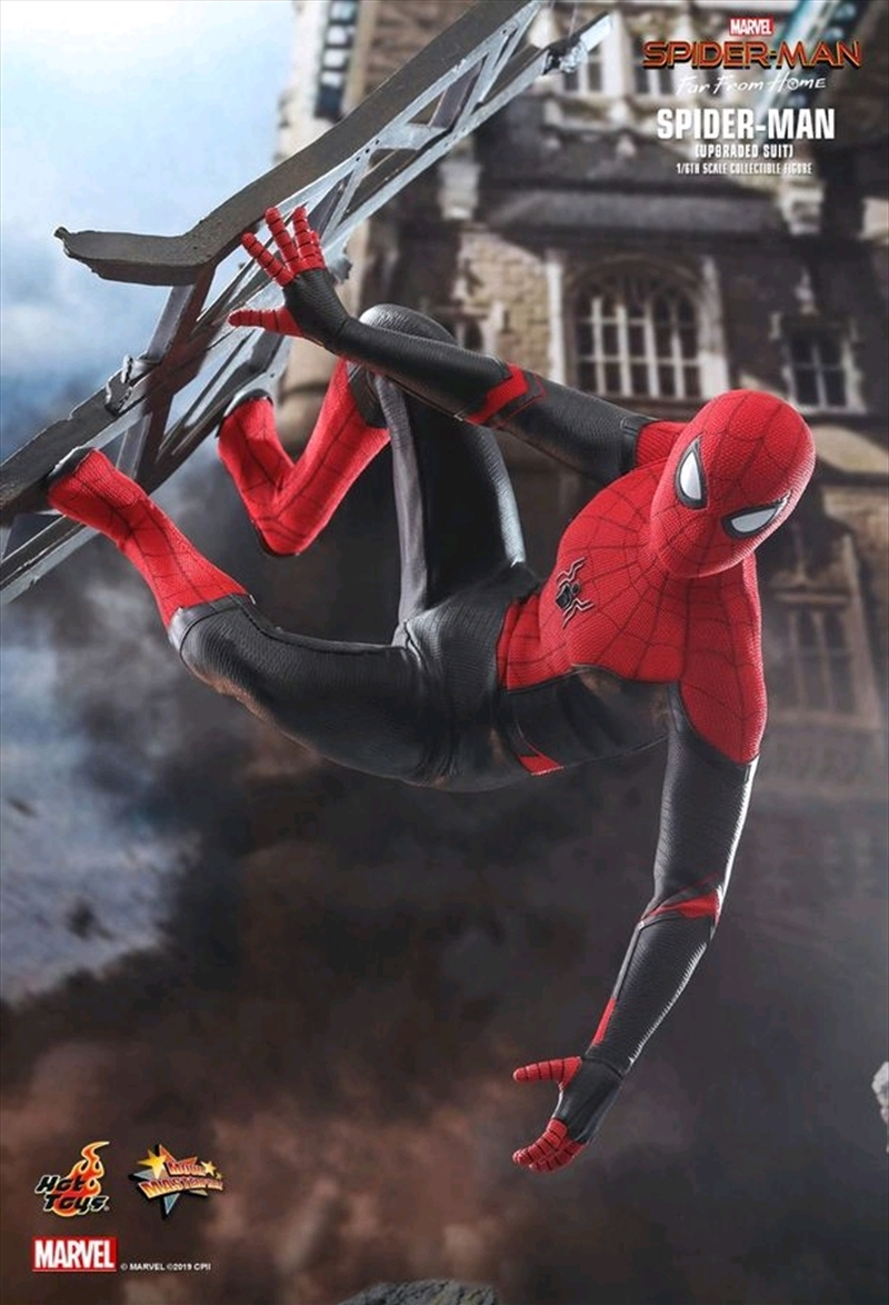 "Spider-Man: Far From Home - Spider-Man Upgraded Suit 12"" 1:6 Scale Action Figure 