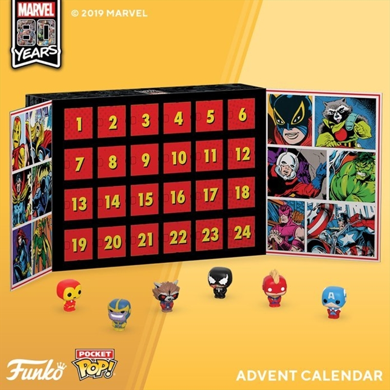 Marvel Pocket Pop! Advent Calendar | Pop Vinyl