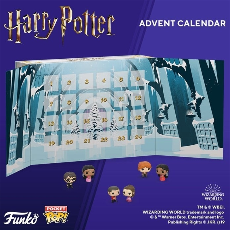 Harry Potter Yule Ball Pocket Pop! Advent Calendar | Pop Vinyl