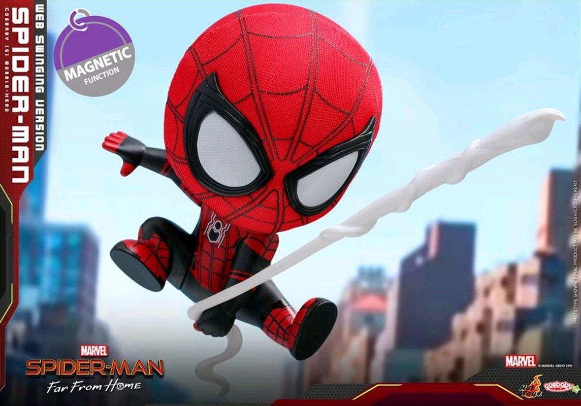 Spider-Man: Far From Home - Spider-Man Web Swing Cosbaby | Merchandise