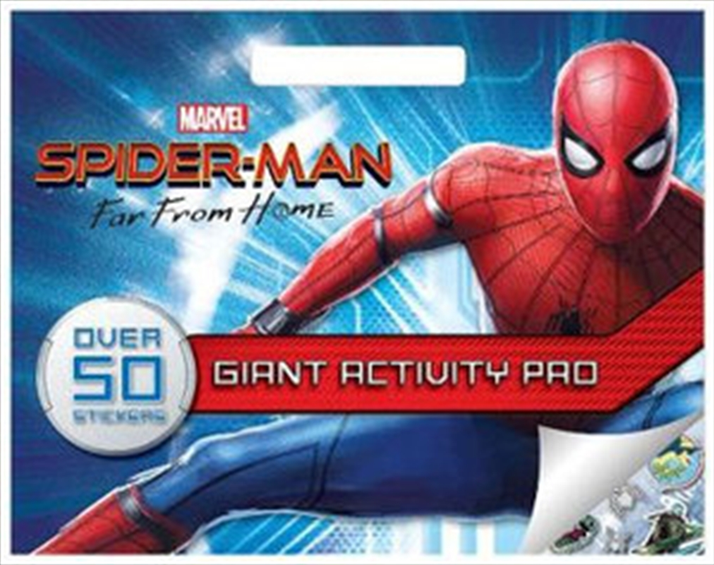 Spider-Man Far From Home Giant Activity Pad | Paperback Book
