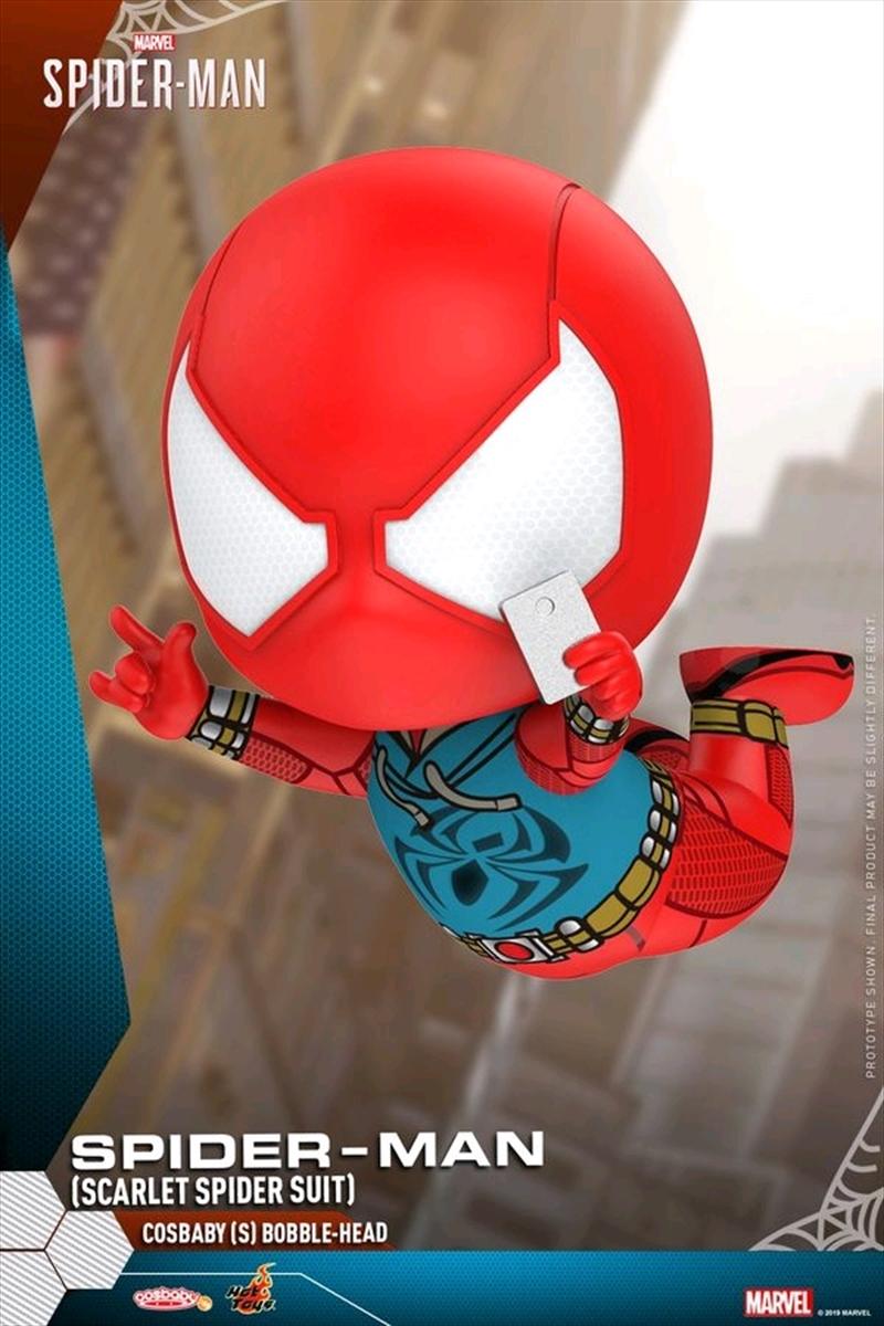 Spider-Man - Scarlet Spider Cosbaby   Merchandise