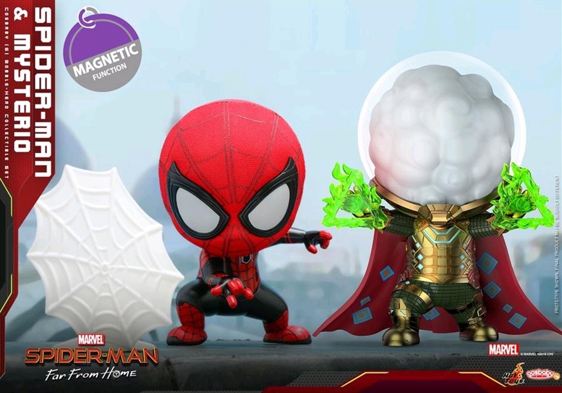 Spider-Man: Far From Home - Spider-Man & Mysterio Cosbaby Set | Merchandise