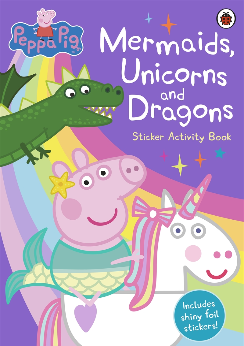 Mermaids Unicorns And Dragons - Sticker Activity Book | Paperback Book