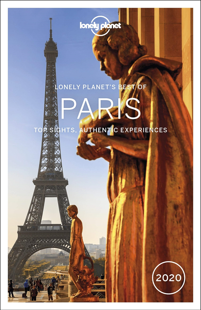 Lonely Planet Travel Guide - Best Of Paris 2020 | Paperback Book