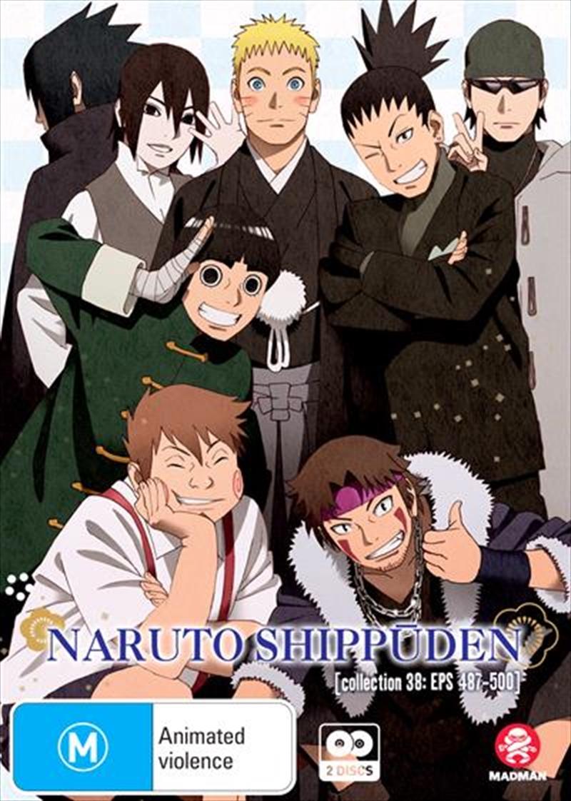 Naruto Shippuden - Collection 38 - Eps 487-500 | DVD