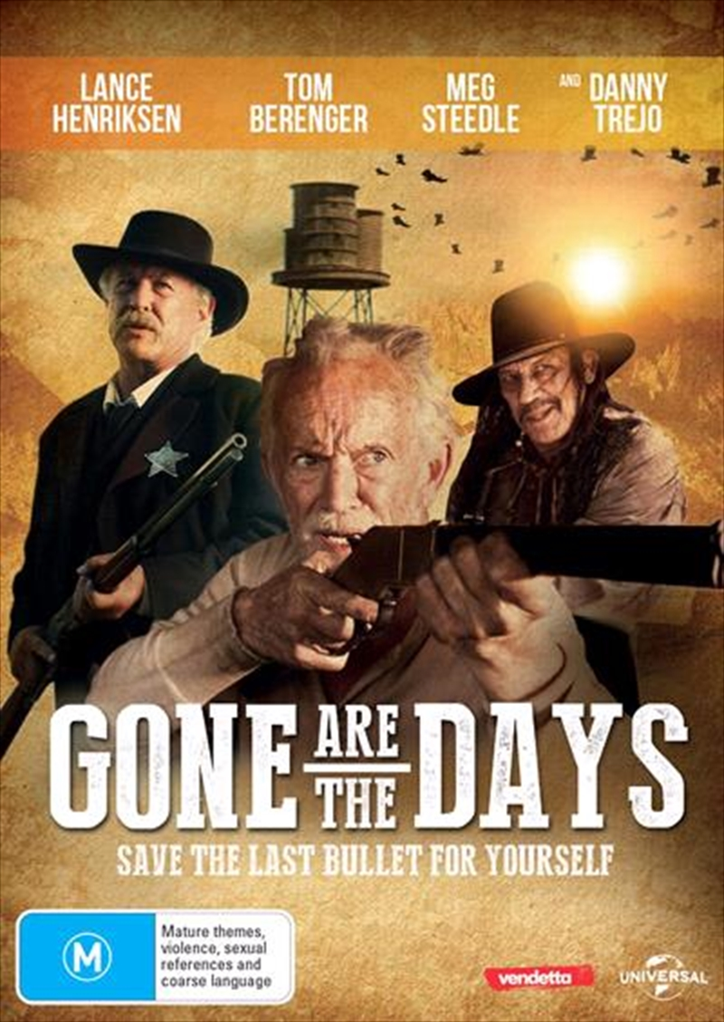 Gone Are The Days | DVD