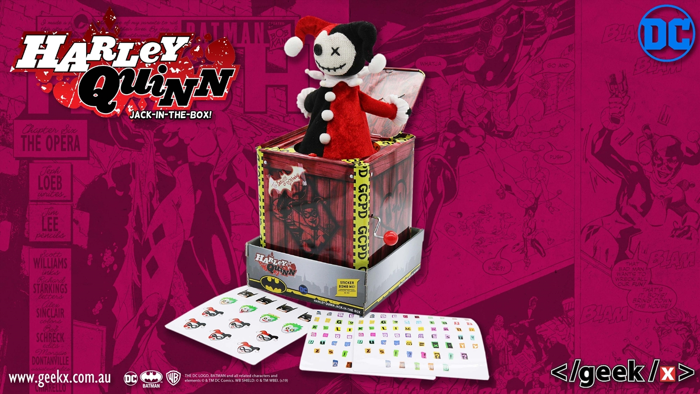 Harley Quinn Jack In The Box | Toy