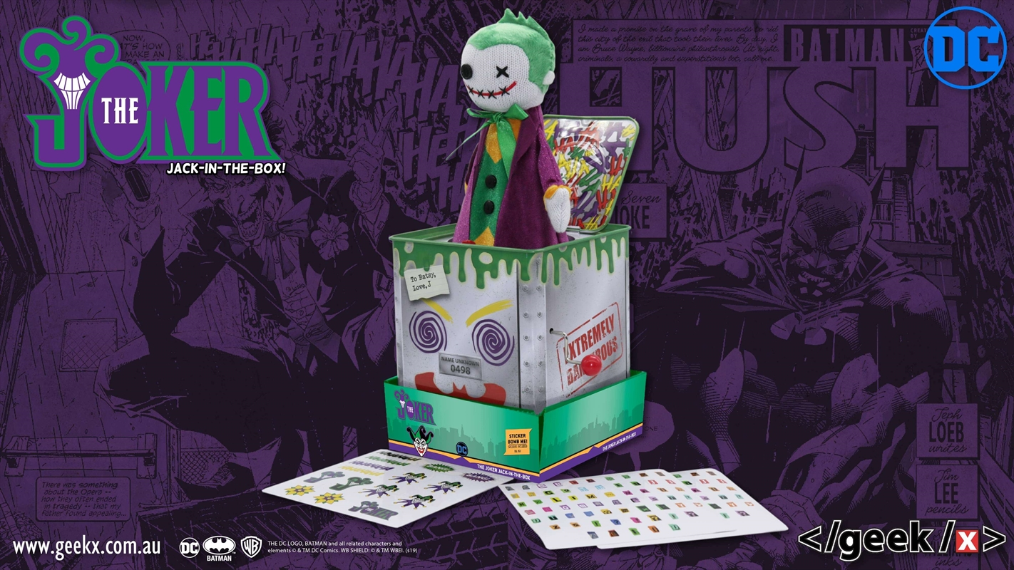 Joker Jack In The Box | Toy