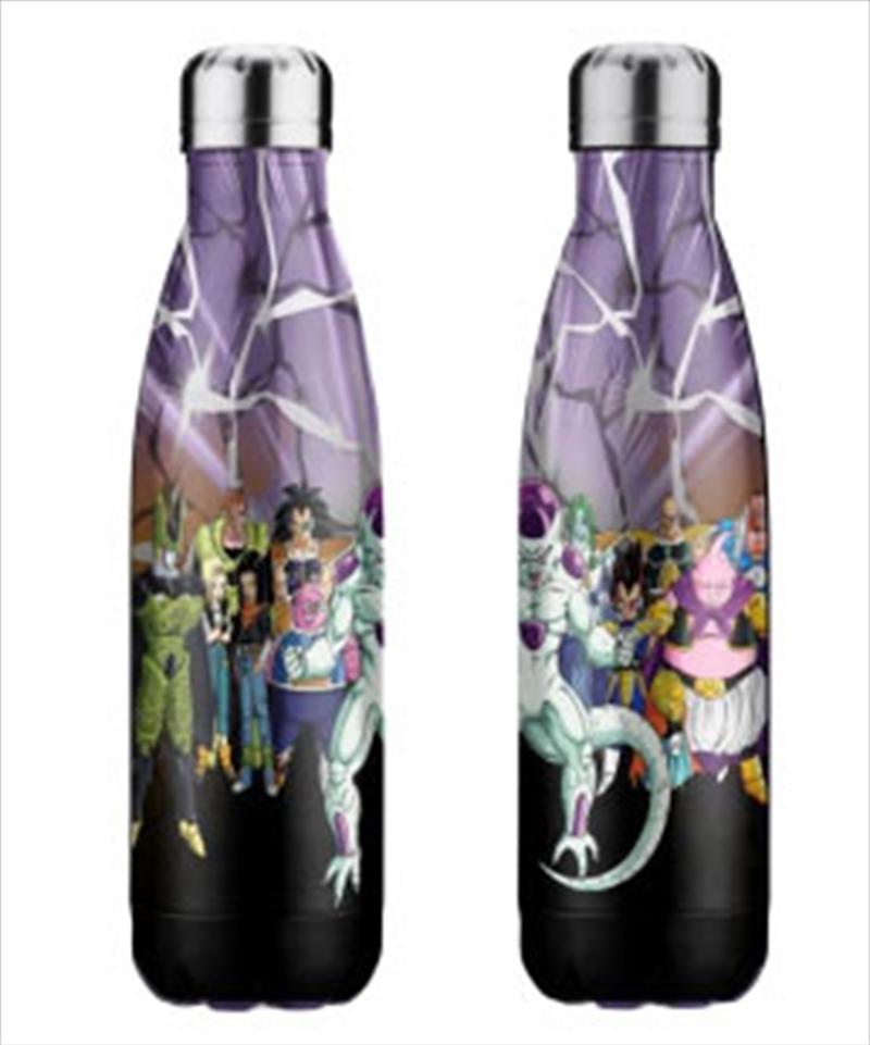 Dragon Ball Z Villains Stainless Steel Bottle | Merchandise