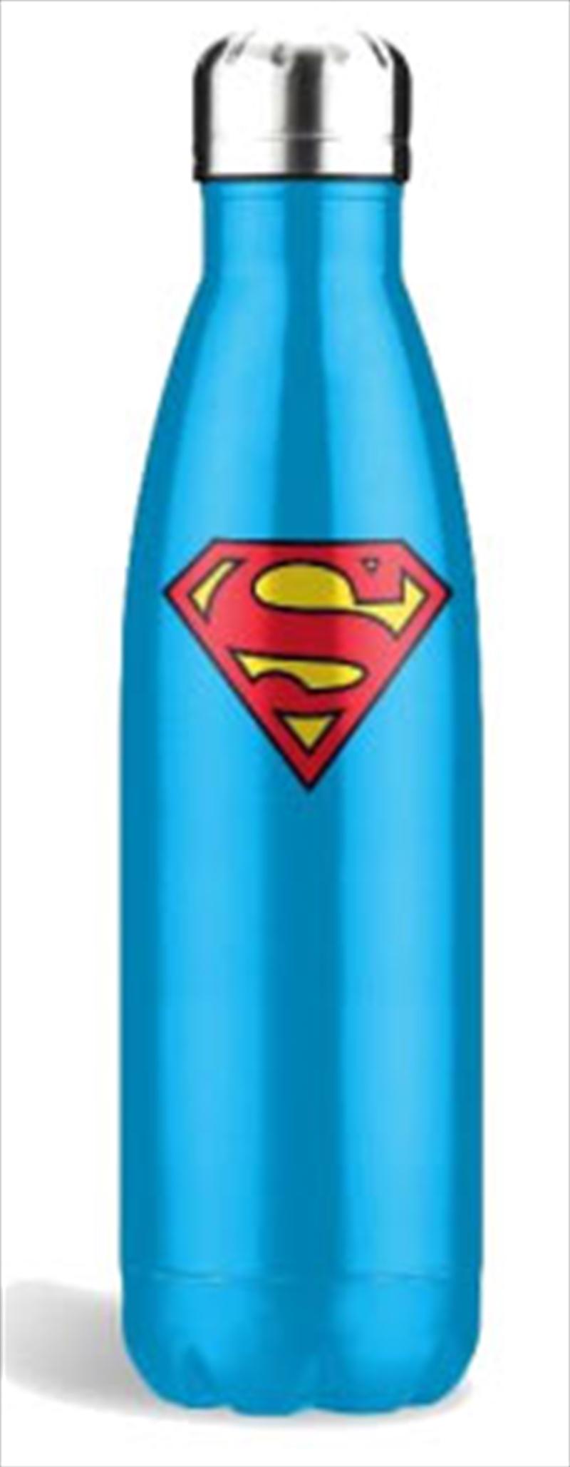 Superman Blue Stainless Steel Bottle | Merchandise