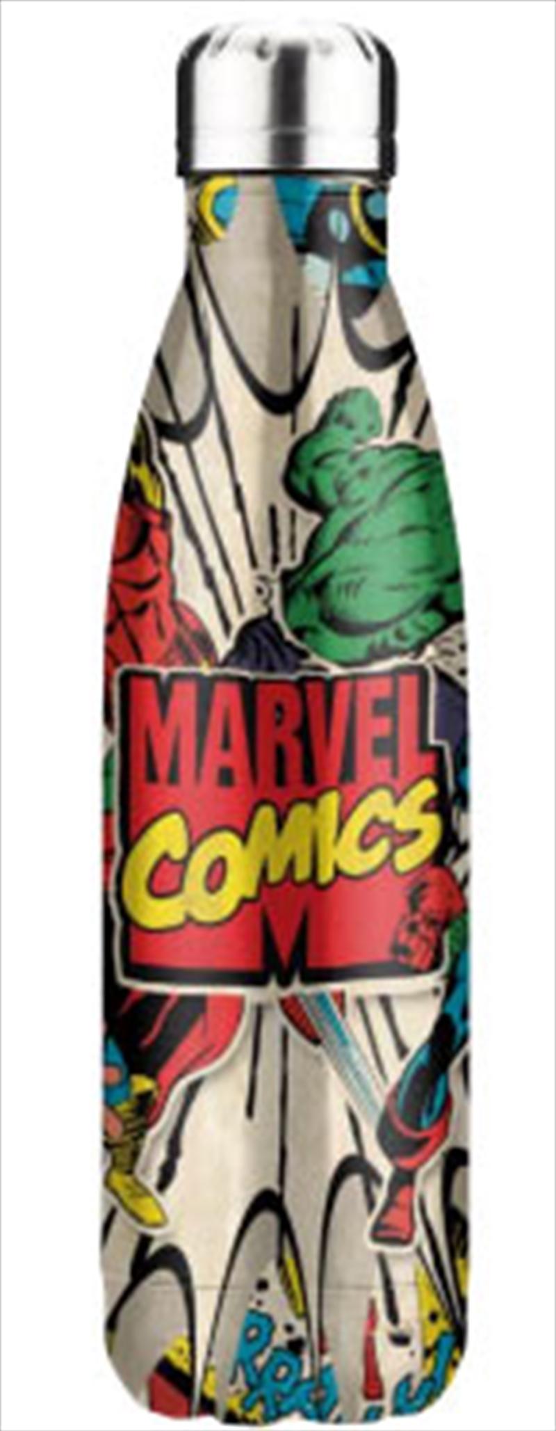 Marvel Comics Stainless Steel Bottle | Merchandise