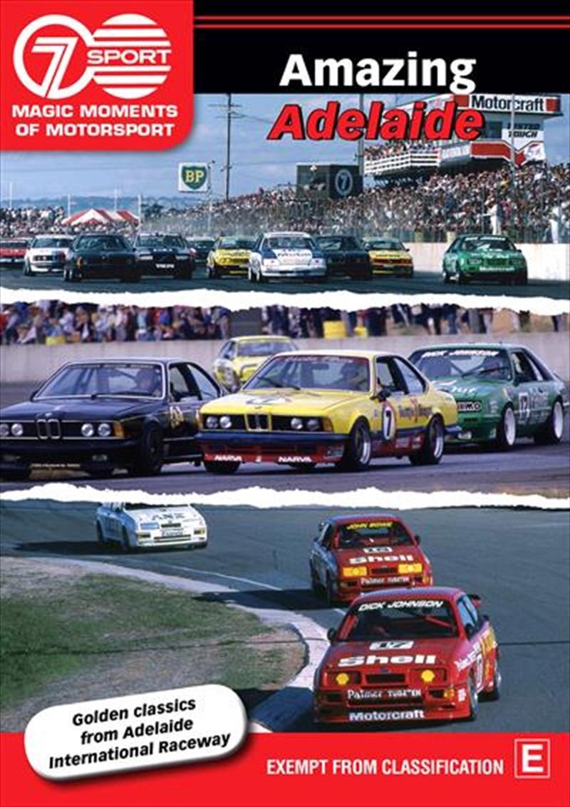 Magic Moments Of Motorsport - Amazing Adelaide | DVD
