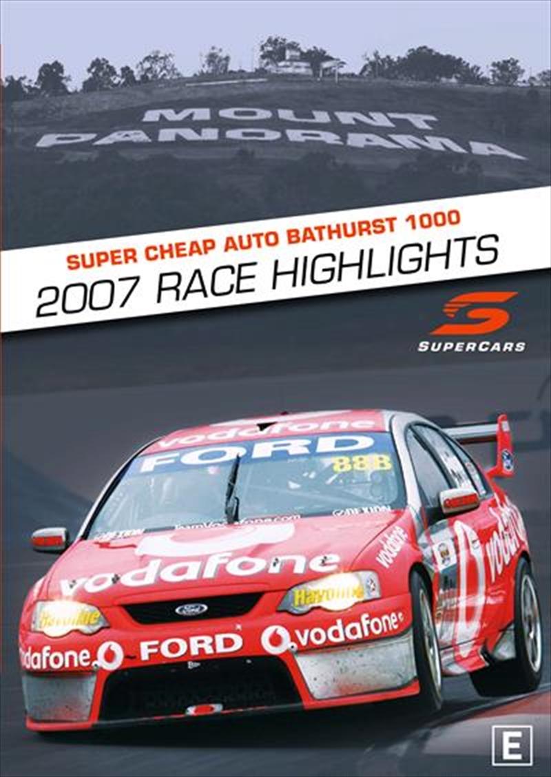 V8 Supercars - 2007 Bathurst 1000 Highlights | DVD